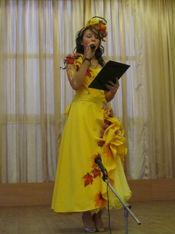 Платье для конкурса мисс осень 115