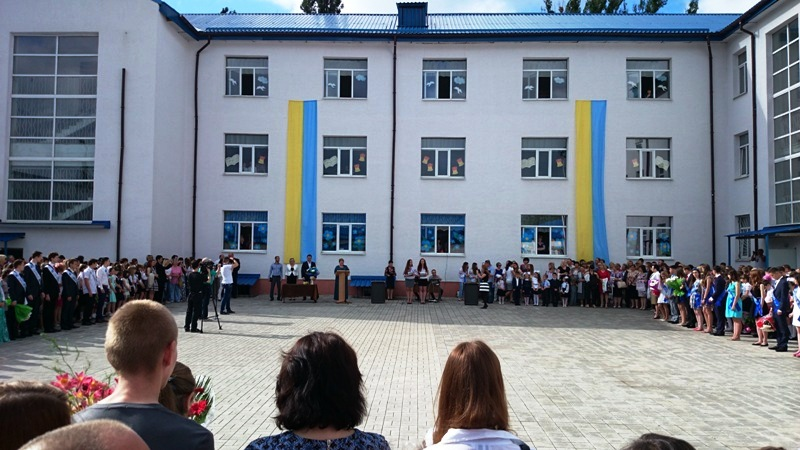 последний звонок 2015 школа 5 Славянск